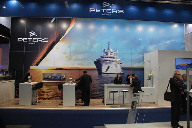 Peters Werft - Messestand